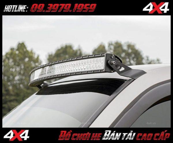 Led bar cho xe offroad: Đèn led bar 10D trang trí đẹp và đẳng cấp, tăng sáng cho ford ranger