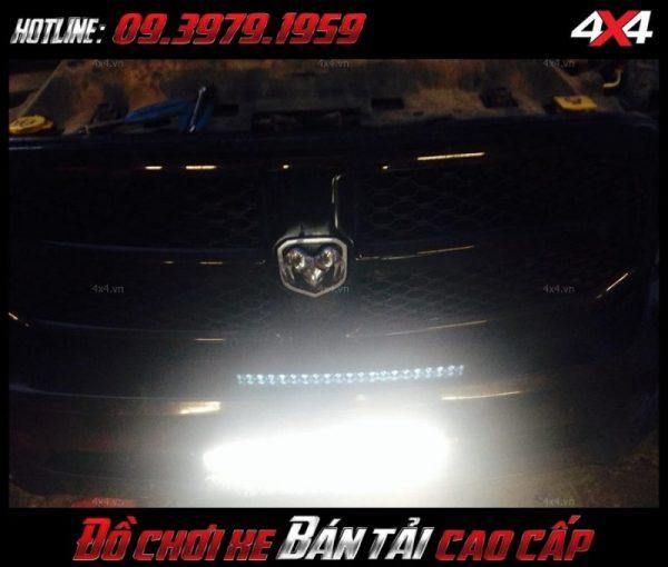 Picture led bar <strong>độ đèn Ford Ranger</strong>: loại đèn led bar này không những có tác dụng độ đẹp mà còn cho ánh sáng vô cùng tốt