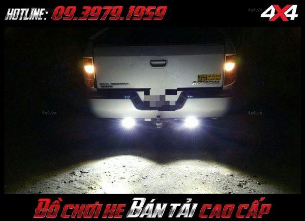 Led bar <strong>độ đèn Ford Ranger</strong>: Đèn led light bar, đèn tròn, đèn vuông lắp đẹp cho bán tải