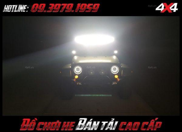 Photo led bar <strong>độ đèn Ford Ranger</strong>: hình dáng siêu chất của xe Ford Ranger sau khi gắn đèn led light bar