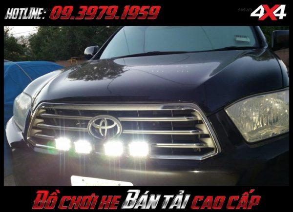 Led bar <strong>độ đèn Ford Ranger</strong>: Đèn led bar giá rẻ dành cho bán tải, xe 4 bánh tại Tp.Tp Hồ Chí Minh