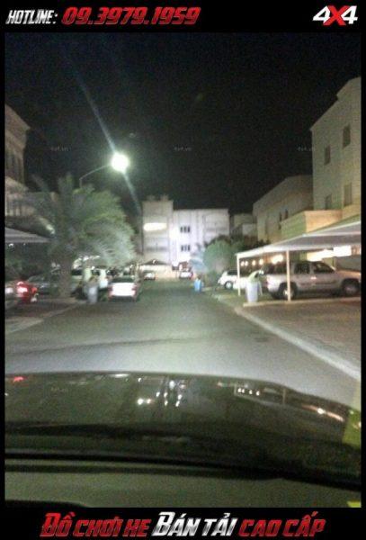 Led bar <strong>độ đèn Ford Ranger</strong>: xe bán tải và xe 4 bánh gắn đèn led bar để trợ sáng khi đi đường vào ban đêm