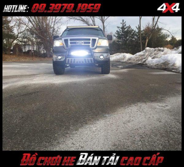 Led bar <strong>độ đèn Ford Ranger</strong>: Đèn led rất sáng đẹp lượng, giá rẻ dành cho xe bốn bánh bán tải ở Tp.HCM
