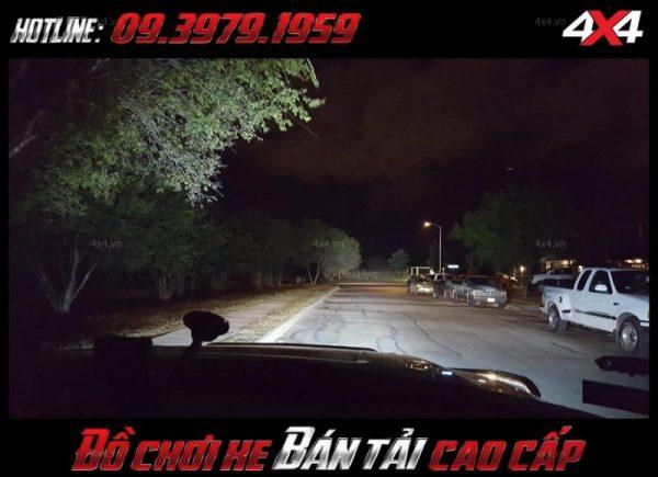 Hình ảnh led bar <strong>độ đèn Ford Ranger</strong>Led bar <strong>độ đèn Ford Ranger</strong>: Đèn led bar cho ánh sáng vô vùng tốt vào ban đêm