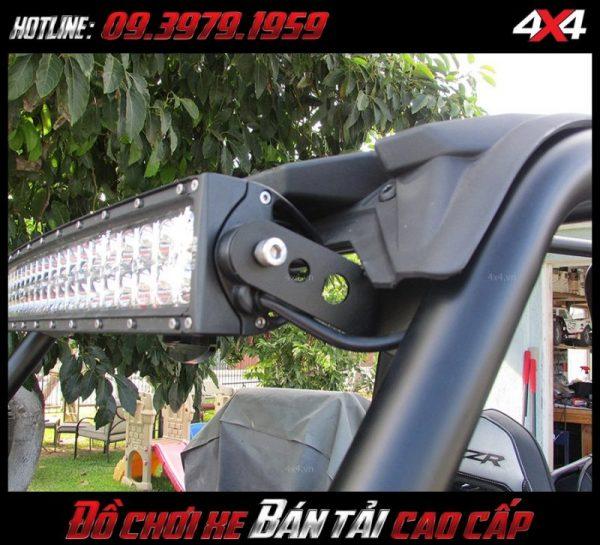 Bức ảnh led bar <strong>độ đèn Ford Ranger</strong>Led bar <strong>độ đèn Ford Ranger</strong>: Đây là kiểu đèn led cực kì sáng dành cho xe Ford Ranger, xe ô tô