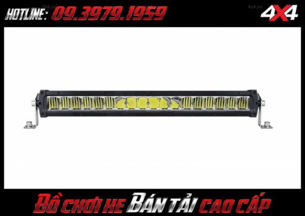 Đèn led bar ô tô, đèn led bar xe bán tải: đèn led bar lúp vòm dành trợ sáng độ xe Ford Ranger