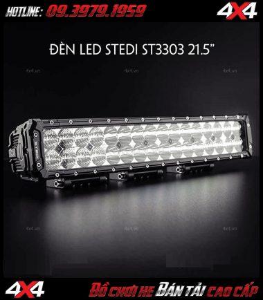 Photo Đèn led bar Stedi ST3303 21.5 Inch dành gắn cho xe bốn bánh xe bán tải