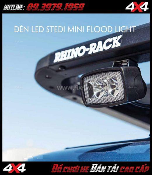 Hình ảnh Đèn led Stedi Mini 10w bóng Osram với ánh sáng loe dành cho xe bốn bánh xe bán tải