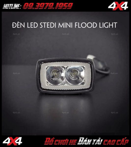 Tấm ảnh Đèn led Stedi Mini 10w bóng Osram với ánh sáng loe dành cho xe ô tô xe bán tải