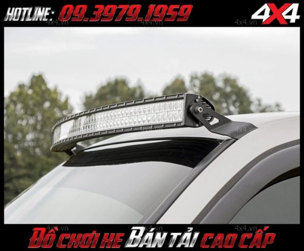 Đèn led bar ô tô, xe bán tải gắn nóc xe đẹp và cứng cáp