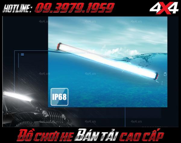 Đèn led bar 12D chống vào nước chuẩn Ip68