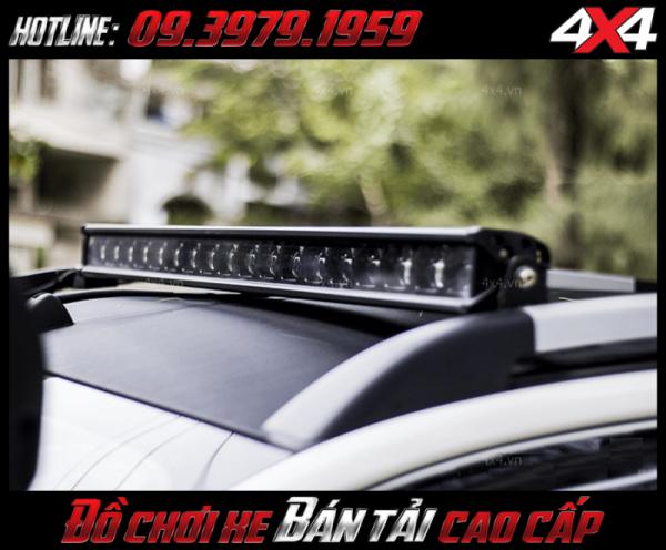 Đèn led bar ô tô, đèn led bar xe bán tải: Đèn led bar 6D độ đẹp và đẳng cấp gắn nóc xe bán tải tại HCM