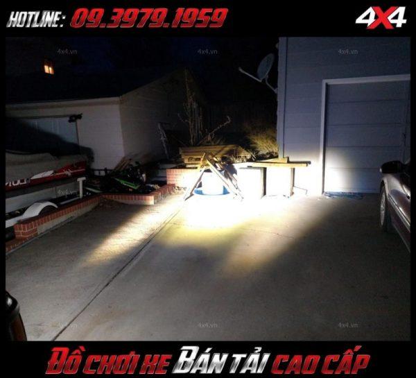 Bức ảnh <strong>đèn led nóc xe bán tải</strong>: Đèn led bar giá rẻ dành cho xe bán tải Ford Ranger, xe 4 bánh ở Tp.HCM