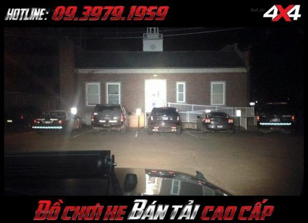 Photo <strong>đèn led nóc xe bán tải</strong>: Đèn led bar vô vùng sáng được nhiều người ưa chuộng ở HCM