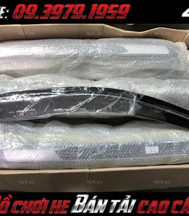 Tấm ảnh đèn độ: một vài mẫu Vè che mưa độ đẹp và đẳng cấp cho xe ô tô, xe bán tải Ford Ranger Raptor