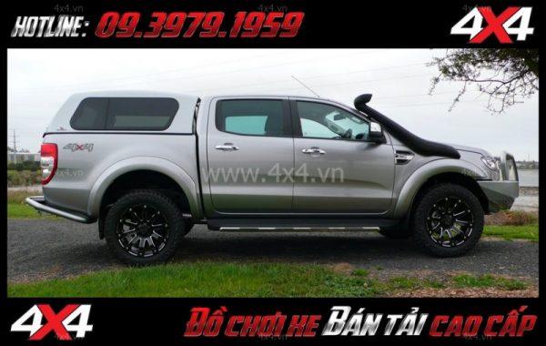 Photo bán mâm 18 inch : Mâm Black Rhino SelKirk 18x9 ET-12 hài hòa và cứng cáp dành cho xe ô tô xe bán tải tại Tp.HCM