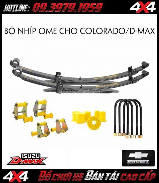 Bán bộ nhíp Old Man Emu dành cho xe bán tải Chevrolet Colorado và Isuzu D-Max