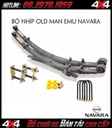 Bán bộ nhíp Old Man Emu và phụ kiện cho Nissan Navara NP300