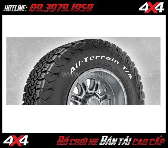 Photo Bán lốp BFGOODRICH chất lượng tốt, độ bền và đàn hồi tốt dành cho xe bán tải, ô tô