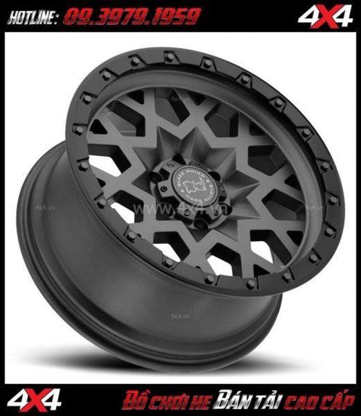Picture bán mâm 18 inch : Mâm BLACK RHINO SPROCKET 18×9.5 ET-18 thể thao giá rẻ cho xe 4 bánh, xe off-road