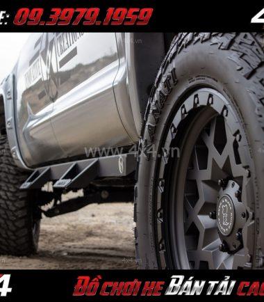 Photo bán mâm 18 inch: : Mâm BLACK RHINO SPROCKET 18×9.5 ET-18 thể thao giá rẻ cho xe bốn bánh, xe bán tải