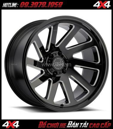 Image bán mâm 18 inch Mâm Black Rhino Thrust 18x9.5 ET-18 cho ô tô xe off-road tại TpHCM
