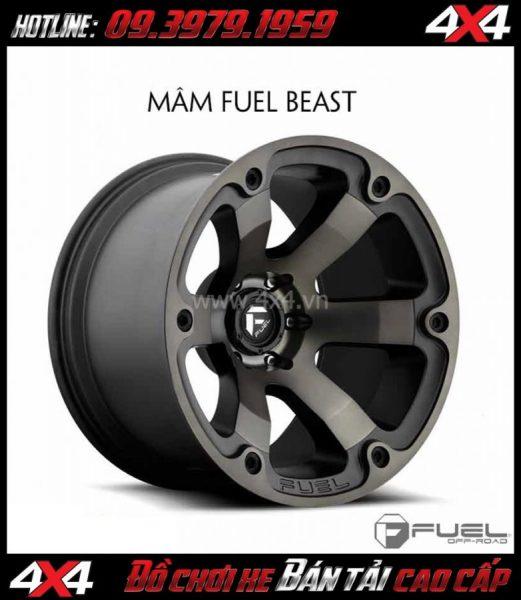 Bán mâm 18 inch: Mâm Fuel Deep Lip Beast – D564 dành cho xe bán tải và SUV