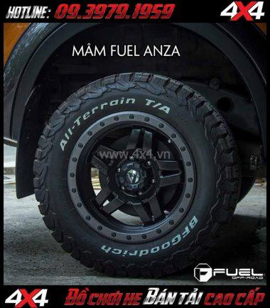 Image Bán mâm 18 Inch: Mâm Fuel One Piece Anza D557 cho xe pick-up và xe SUV
