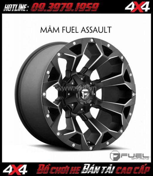 Bức ảnh: Bán mâm 18 Inch: Mâm Fuel One Piece Assault - D546 cho xe bán tải và SUV
