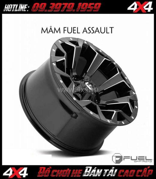 Bức ảnh Bán mâm 18 Inch: Mâm Fuel One Piece Assault - D546 cho xe bán tải và SUV
