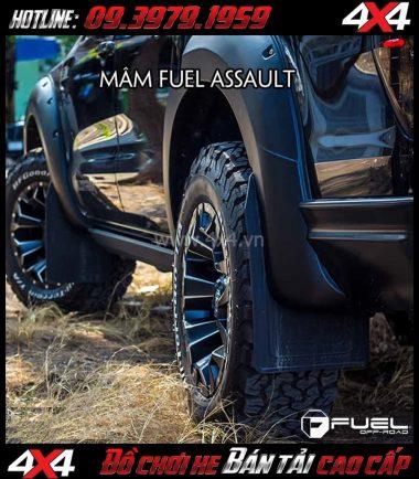 Bức ảnh Bán mâm 18 Inch: Mâm Fuel One Piece Assault - D546 cho xe pick-up và SUV