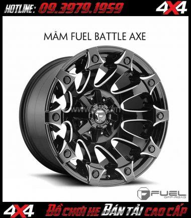 Bức ảnh Bán mâm 18 Inch: Mâm Fuel One Piece Battle Axe D578 cho xe pick-up và SUV