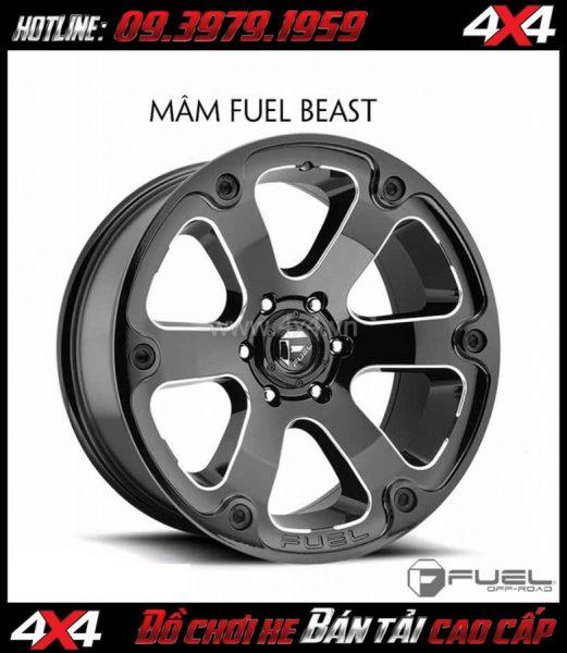 Hình ảnh: Bán mâm 18 Inch: Mâm Fuel One Piece Beast D562 dành cho xe bán tải và xe SUV
