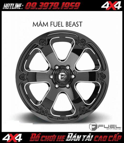 Hình ảnh: Bán mâm 18 Inch: Mâm Fuel One Piece Beast D562 dành cho xe off-road và xe SUV