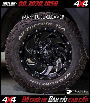 Hình ảnh Bán mâm 18 Inch: Mâm Fuel One Piece Cleaver – D574 dành cho xe pick-up và SUV
