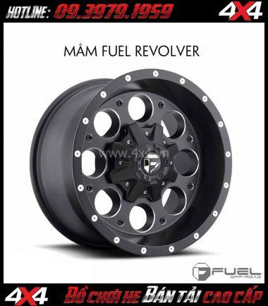 Bán mâm 18 Inch: Mâm Fuel One Piece Revolver D525 dành cho xe bán tải và SUV