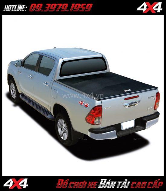 Chuyên bán nắp thùng mềm cho xe bán tải Toyota Hilux
