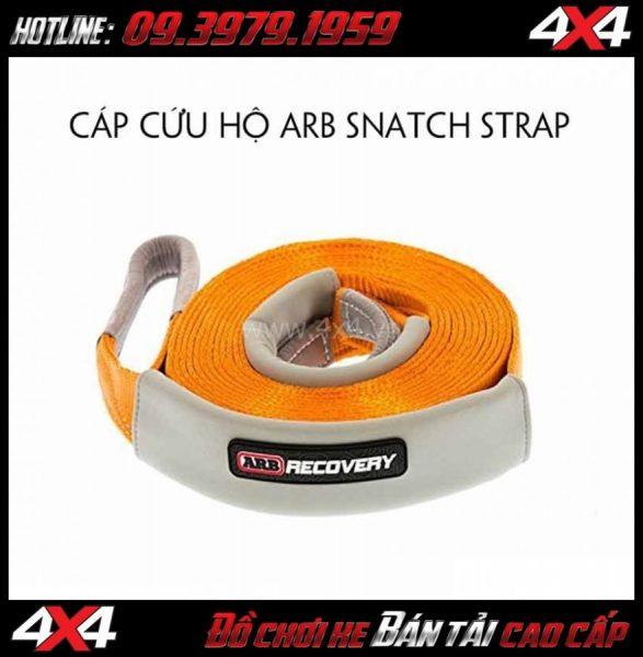 Dây cáp cứu hộ ARB Snactch Strap tiện dụng với sức kéo chịu được lên đến 8 tấn