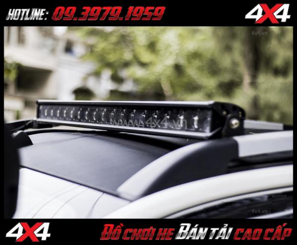 Hình ảnh đèn led bar 6D gắn nóc xe bán tải cực đẹp và đẳng cấp
