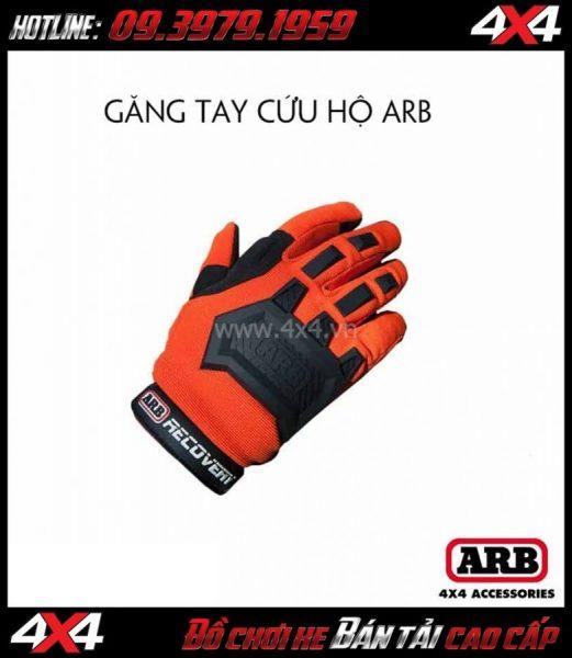 Tấm ảnh: Găng tay cứu hộ ARB tiện lợi khi đi dã ngoại, cắm trại