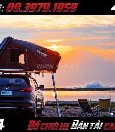 Tấm ảnh Lều dã ngoại Skycamp Ikamper tiện lợi dành cho gia đình du lịch