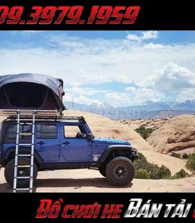 Hình ảnh Lều dã ngoại Skycamp Ikamper thuận lợi dành cho gia đình du lịch