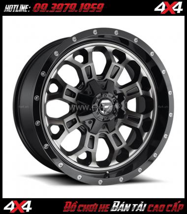 Photo bán mâm 18 inch: Mâm Fuel CRUSH D561 18 inch chất lượng, giá rẻ gắn đẹp cho xe ô tô xe off-road