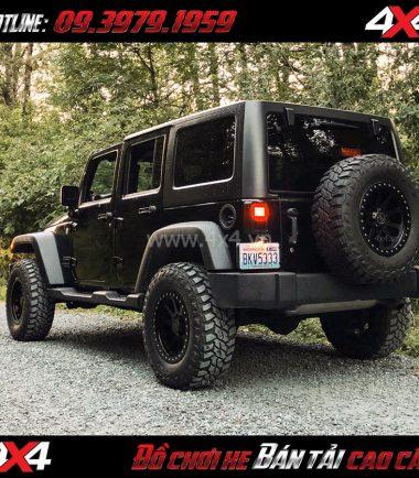 Tấm ảnh Mâm Lazang xe hơi 17 inch Blackrhino Mint Matte Đen, Xám độ xe bán tải, xe ô tô