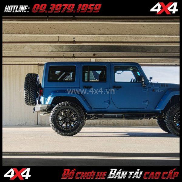 Image: Mâm Lazang oto 17 inch Blackrhino Mint Matte Đen, Xám độ xe bán tải, xe bốn bánh