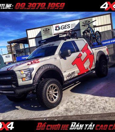 Bức ảnh Mâm Lazang ô tô 17 inch Blackrhino Mint Matte Đen, Xám độ xe bán tải, xe ô tô