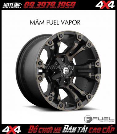 Picture: Mâm xe hơi độ: Mâm Fuel One Piece Vapor D569 dành cho xe SUV và xe bán tải