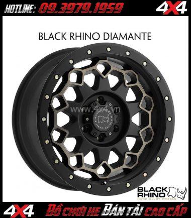 Bức ảnh Mâm xe hơi mạnh mẽ Black Rhino Diamante 20×9 ET-12 dành cho xe pick up và SUV tại Sài Gòn