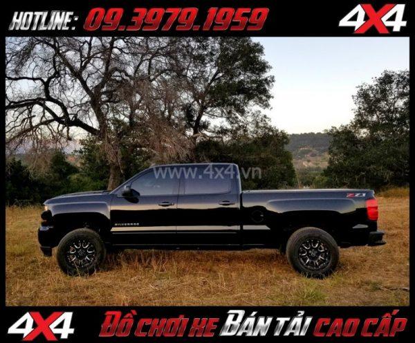 Bức ảnh Mâm ô tô cứng cáp: Mâm Blackrhino Sierra Gloss Black 20 Inch dành cho xe pickup và SUV tại Tp.HCM