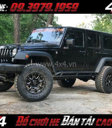 Picture Mâm ô tô mạnh mẽ: Mâm Blackrhino Sierra Gloss Black 20 Inch dành cho xe pick up và SUV tại HCM